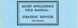 Secret Intelligence (SI) Training Manual, OSS