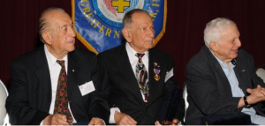 With Gus Vellios and John Giannaris